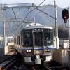 小浜線に婚活列車 521系走る