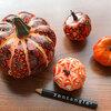 【Zentangle】かぼちゃのゼンタングル完成(インクトーバータングルス#16-25)
