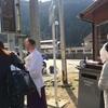三峯神社の白い気守り!毎月1日限定!四季の旅、ツアーに参加したが大渋滞、大混雑で、まさかの断念
