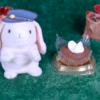 【ショコラケーキ ルビーチョコソース】ファミリーマート 2月11日(火)新発売、ファミマ コンビニ スイーツ 食べてみた!【感想】