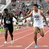 日本人最速 陸上100m 9秒97 サニブラウン選手の身長