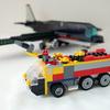 レゴ:空港用化学消防車の作り方 LEGOクラシック10696だけで作ったよ(オリジナル)