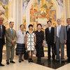 28日 加藤前ウズベク大使ご夫妻をお招きした対談と舞鶴市のウズベクとの取組みを伺う会を開催