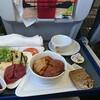 お金を使わずに乗ったビジネスクラス(オーストリア航空)EU内路線 ルフトハンザ空港ラウンジと機内食
