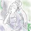 北鎌倉の円覚寺 百観音の「夢見る観音様」