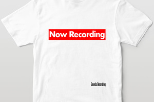 レコーディング必須アイテム&ワードをデザイン! サンレコ・オフィシャルTシャツ2021