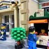 LEGO 10278 売店に売り子さんとお客さん