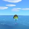 あつ森、アプデで海での遊泳が解禁!