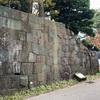 【金沢城石垣めぐり】防火の願いが込められた6角形の「亀甲石」が土橋門にあるよ