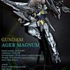 【No.34】ガンダムAGE II マグナム 全塗装 完成品