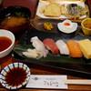 さんちか:さかえやで「にぎり天ぷら膳」いただきました