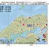 2016年10月02日 10時08分 岡山県北部でM3.7の地震