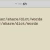 pythonでランダムな英単語を取得したい