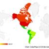 海外旅行 旅先での滞在費用を推定する方法:各国のCoca Cola価格を比較 02  アメリカ大陸編