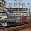 EF66 27充当5097レ、EF210-901充当1068レ 貨物列車撮影 4/11