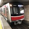 今日デビューした大阪メトロ御堂筋線の30000系の10編成目に遭遇しました!
