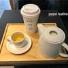 【台湾台中/旅行④】スタバで台湾限定の阿里山烏龍茶〜して帰ります