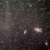 M82付近、高銀緯分子雲添え