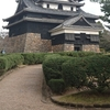 松江城(日本百名城第64番・現存天守・国宝)