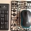 ワイヤレスキーボード&マウスとマウスパッド(20171026_02)