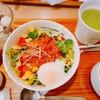 nana's green teaでランチ~ハマツのBOXケーキを購入。ココウォーク