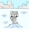 雪集めと資源確保に村発見【Minecraft PE】