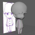 3Dプリンタ初心者がフィギュアを作った
