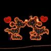 澄みきった空気の中に温かいイルミネーションの光 山中湖 花の都公園 2018イルミネーションファンタジウム