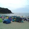 子連れ旅行で定宿探し 南伊豆・弓ヶ浜でボディーボードにはまる