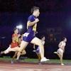 桐生が10秒05で優勝…陸上・100メートル