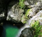 みたらい渓谷に出没!新緑と滝の素敵な渓谷歩き(光滝・みたらい滝)