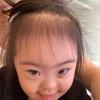 得意げな笑み(4歳)
