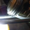 CS90 ピストンリングの合い口隙間測定