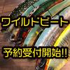【ワイルドルアーズ】人気ジャイアントベイト「ワイルドビート」本日0時より通販予約受付開始!