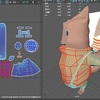 maya:Udemyの簡単&かわいい3Dモデリングを受講4