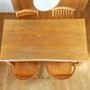 蜜ろうワックスでテーブルのお手入れ/未晒し蜜ロウワックス