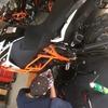 KTM1090Rの初回点検とあれこれ装着した話