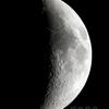 今宵の月(月齢6.264)