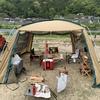 【京都】友人とキャンプに行ってきた話【笠置キャンプ場】