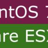 ESXi6.5にCentOS7.3をインストールする(VMコンソール不具合あり?)