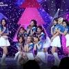 180829 Hi high pre-recording heejin,hyunjin,vivi,gowon,chuu,yves, Loona From MuBeat
