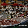 573食目「金沢近江町市場で果たして捜し物は見つかるだろうか!?」金沢と言えばもちろん「アレ」ですよね@初金沢の旅⑤