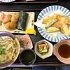 レッスンの前に桜庵でおうどん食べたら、なすとネギ頂きました。