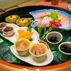 にっしょうかん別邸 紅葉亭 : 卓袱料理(しっぽく)の夕食