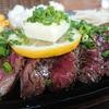 愛川町半原まで肉ポタ。スタンプのステーキが美味しい!!