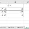 各 Excel シートにある表の最終行を 別シートへコピーする(ExcelVBA)