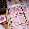 *【水彩画】美しいグラデーションの世界♡水彩画で作るメッセージカード*