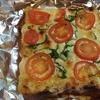【ピザトースト】からチーズつながりでキャンプ場の話