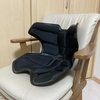 座り仕事で腰が痛い!! ➡ 「腰をしっかり守ってくれる骨盤サポートチェア」本も役立つけどコレも役立っています♬