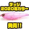 【レイドジャパン】毎回売り切れの人気羽根モノルアー「ダッジ 2020年カラー」通販サイト入荷!